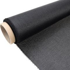 Ruitex gaasdoek zwart 205 cm breed